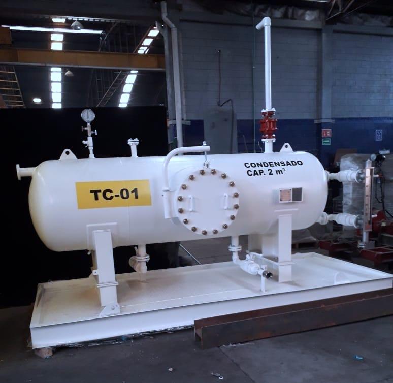 Skids para Filtración de Hidrocarburos en mexico - Gas natural, Gasolina o Diesel