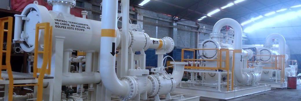 Skids para Filtración de Hidrocarburos en mexico - Gas natural, Gasolina o Diesel - ares control